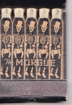 Unusual Unstruck Feature Matches Matchbook The Morgue Skeleton Halloween