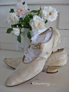 Antique  Vintage Victorian Ladies Shoes  by SweetMagnoliasFarm, $34.50 sold