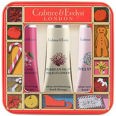 £12.50 Buy Crabtree & Evelyn Fruits & Flowers Hand Care Tin Online at johnlewis.com