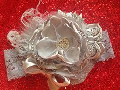 Silver Bells Headband by ChloeRoseCouture on Etsy
