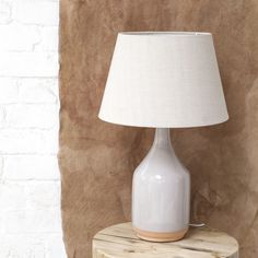 Newport Ceramic Lamp - Blush - Table Lamps - Lighting - Furniture