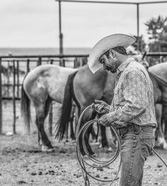 """Working Cowboy"" by Carolyn Mann Morehead, #shootingalpine photo contest semifinalist! #alpinetexas"