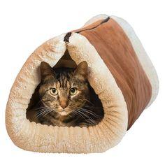 """фото Лежанка трансформер """"Труба"""" для кошек и собак"""