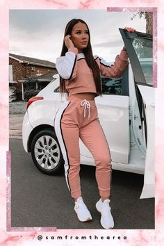 Cute Lazy Outfits, Swag Outfits For Girls, Cute Swag Outfits, Crop Top Outfits, Sporty Outfits, Teen Fashion Outfits, Pretty Outfits, Stylish Outfits, Looks Adidas