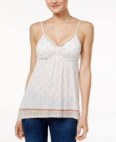 American Rag Printed Camisole, Only at Macy's