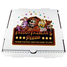 Freddy Fazbear's Pizza Box by MrAngryDog