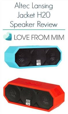 Altec Lansing Jacket H20 Review - lovefrommim.com Love from Mim Bluetooth Speaker Review Portable Speaker Review Mini Speaker Altec Lansing Speaker Review Altec Lansing Mini H20 Speaker Review