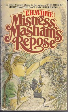 Mistress Masham's Repose by T.H. White. A delightful book, my copy has silver lettering for the title and was published in 1979 by Totem Books.