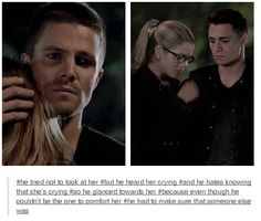 Arrow - Felicity and Oliver #3.2 #Season3 #Olicity