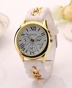Women Silicone Watch - Geneva Brand
