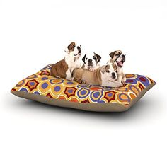 Kess InHouse Laura Nicholson Flower Garden Dog Bed 30 by 40Inch >>> To view further for this item, visit the image link.