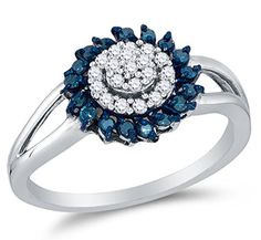 Size 7 – 10K White Gold Blue & White Round Diamond Halo Circle Engagement Ring – Channel Set Round Center Setting Shape (1/4 cttw.)by Sonia Jewels http://blackdiamondgemstone.com/colored-diamonds/jewelry/wedding-anniversary/engagement-rings/size-7-10k-white-gold-blue-white-round-diamond-halo-circle-engagement-ring-channel-set-round-center-setting-shape-14-cttw-com/