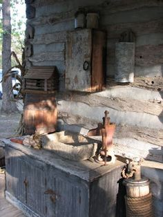 The Old Tattered Flag: A primitive homestead tour.....
