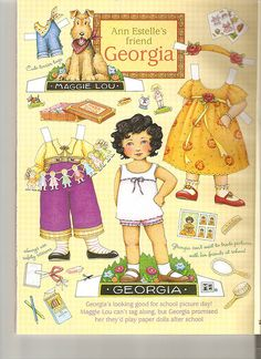 Ann Estelle Georgia paper doll 3 by Lagniappe*Too, via Flickr