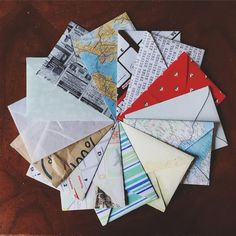 Perfect DIY Envelope Template. Homemade ...