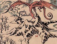grafika the hobbit, hobbit, and jrr tolkien Hobbit Art, O Hobbit, The Hobbit Map, Tauriel, Legolas, Quotes Sherlock, The Misty Mountains Cold, Elfa, J. R. R. Tolkien