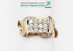 Totaram Jewelers: Buy 22 karat Gold jewelry & Diamond jewellery from India: Mens Diamond Rings