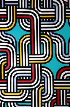 """Oxana Prantl - """"Please hold the line"""" - Acrylic paint on canvas. 60 x 90 cm. Acrylic Painting Canvas, Pop Art"""