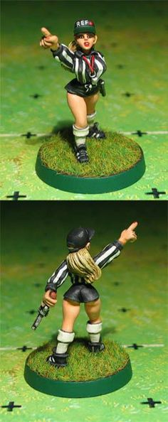 Blood Bowl Referee Pamela