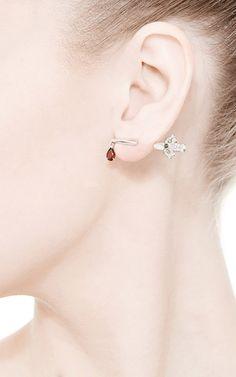 Sword Single Stud Earring by Runa for Preorder on Moda Operandi