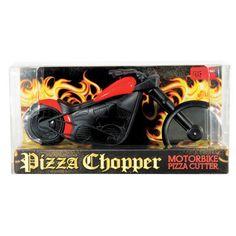 Cortador de Pizza Criativo Moto Bike Chopper