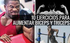 Los mejores Ejercicios para bíceps y tríceps. #entrenamiento #rutina #Ejercicios #gym #training #bodybuilding