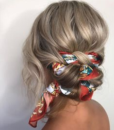 Cool And Must-Have Summer Hairstyles For Women; Must-Have Summer Hairstyles; Summer Hairstyles For Women; Headband Hairstyles, Pretty Hairstyles, Easy Hairstyles, Hairstyles With Scarves, Hairstyle Ideas, Pictures Of Hairstyles, Bandana Hairstyles For Long Hair, Easy Vintage Hairstyles, Pool Hairstyles