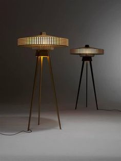 "A nod to the Atomic Age - ""Yukiko"" floor lamp by Roderick Vos : DesignPorn"
