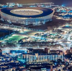 "Check out more sweet pics like these, who made them, and the stories behind them: instagram.com/capetownmag. Are you on Instagram? Tag one of your great pics with #CapeTownMag and we might just feature your image. The picture of the week for the winning #capetownmag feature! capetownmag ""The Cape Town Stadium in Greenpoint, Cape Town South Africa."" Captured by @liu418 #capetown"