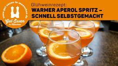 Recipe: Warm Aperol Spritz light, tasty and quickly prepared A warm Aperol Spritz is a light and tasty aperitif for celebrations and when guests come. Of course aperol dinnerswinter light prepared quickly recipe spritz tasty warm winterbonfire winte Low Alcohol Drinks, Non Alcoholic Drinks, Mixed Drinks, Vodka Drinks, Detox Drinks, Healthy Eating Tips, Healthy Nutrition, Healthy Foods To Eat, Healthy Recipes