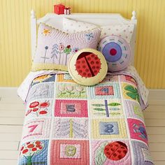 Super adorable kid's quilt!!!