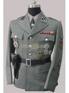 WWii Nazi German SS Gestapo M32 Wool uniform set ...