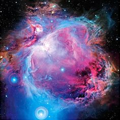 Image of the Orion Nebula (M42) - Image Credit: Jean-Charles Cuillandre, CFHT - http://www.cfht.hawaii.edu/HawaiianStarlight/ and Giovanni Anselmi