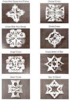 Chrismon Snowflakes - Pictures - Christmas Ornaments - Decorations - Chrismons