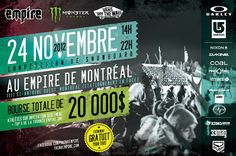 Instance @Stance Socks sponsors the Empire BYP in Montreal. $20k up for grabs!