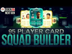 THE MOST EXPENSIVE SQUAD BUILDER EVER! w/ 95 RODRIGUEZ PLAYER CARD | FIFA 14 Ultimate Team