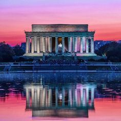 On this day in 1809 #AbrahamLincoln was born. Despite his humble beginnings and lack of formal education Lincoln distinguished himself as an honest leader and a powerful speaker. Leading the nation through the Civil War our 16th President fought for unity and helped bring an end to slavery in our country. Modeled after the Parthenon in Greece (the birthplace of democracy) the #LincolnMemorial honors his legacy. Its a towering icon on the #WashingtonDC landscape that attracts visitors from…