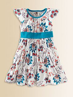 Tea Collection Toddler's & Little Girl's Ardmore Floral Twirl Dress