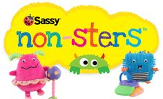 """Sassy """"non-sters"""" are super fun for babies!"""