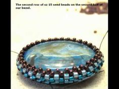 Video: Beaded Jewels The Reversible Pendant.   #Seed #Bead #Tutorials