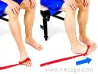 Theraband Turn Ins. Theraband exercises are a great way to strengthen the foot and ankle muscles.