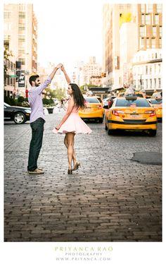 Priyanca Rao Photography | NYC #NYCengagementshoot #engagementshoot #photoshoot  #engagementphotography #nycengagement