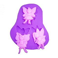 Kitty-Party DIY 3d Silicone Mould 3 Mini Wings Fairy Angel Shaped >>> See this great image @ - bakeware