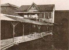 Embarcadouro da Prainha (Atual Píer Mauá) – Início do Séc. XX