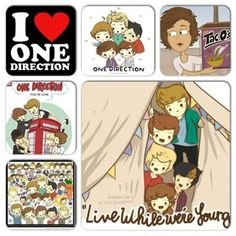 Way funny.... One direction cartoons