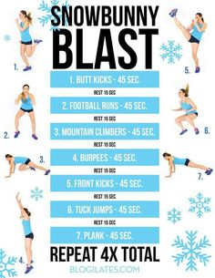 Blogilates HIIT session