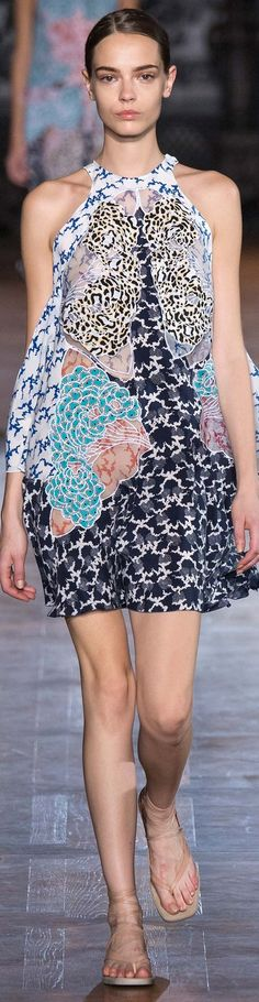 Stella McCartney Collection Spring 2015 | The House of Beccaria~ (No I wouldn't buy or wear this exact thing but i like the fabric and print)