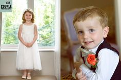 Cute shots of the flower girl and the page boy. Weddings at Druids Glen Resort Photographed by Couple Photography www.couple.ie