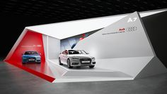 "Exhibition stand ""AUDI""Design by ""GM stand design ""designer Nazar Malets"