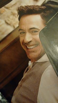 Photo by Sam jones . Robert Downey Jr on vanity fair.